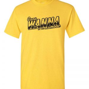 youth t-shirt camp wannakumbac design